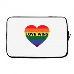 Love Wins Laptop sleeve   Artistshot