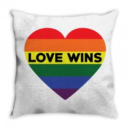 Love Wins Throw Pillow   Artistshot