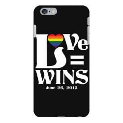 Love Wins iPhone 6 Plus/6s Plus Case | Artistshot