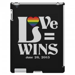 Love Wins iPad 3 and 4 Case | Artistshot