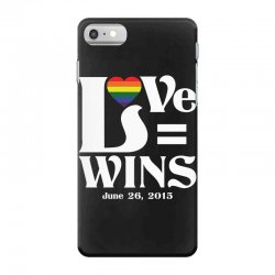 Love Wins iPhone 7 Case | Artistshot