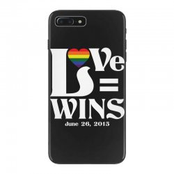 Love Wins iPhone 7 Plus Case | Artistshot