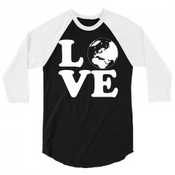Love World 3/4 Sleeve Shirt | Artistshot