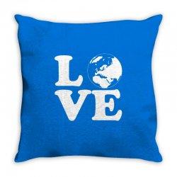 Love World Throw Pillow | Artistshot
