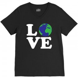 Love World V-Neck Tee | Artistshot