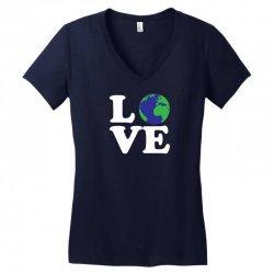 Love World Women's V-Neck T-Shirt | Artistshot