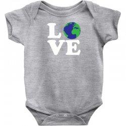 Love World Baby Bodysuit | Artistshot