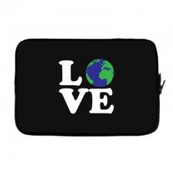 Love World Laptop sleeve | Artistshot