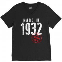 Made In 1932 All Original Part V-Neck Tee | Artistshot