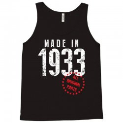 Made In 1933 All Original Part Tank Top | Artistshot