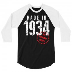 Made In 1934 All Original Part 3/4 Sleeve Shirt | Artistshot