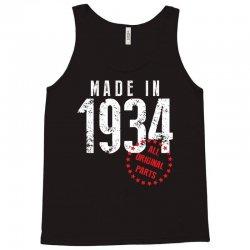 Made In 1934 All Original Part Tank Top | Artistshot