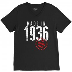 Made In 1936 All Original Part V-Neck Tee | Artistshot