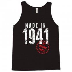 Made In 1941 All Original Parts Tank Top   Artistshot