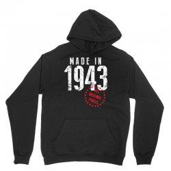 Made In 1943 All Original Parts Unisex Hoodie   Artistshot