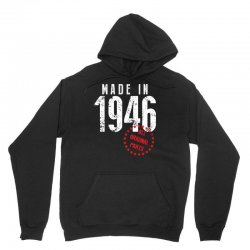Made In 1946 All Original Parts Unisex Hoodie | Artistshot