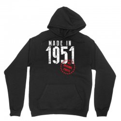 Made In 1951 All Original Parts Unisex Hoodie | Artistshot