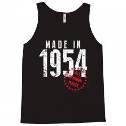Made In 1954 All Original Parts Tank Top | Artistshot
