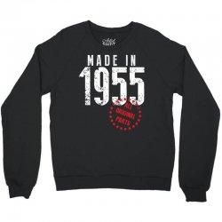 Made In 1955 All Original Parts Crewneck Sweatshirt | Artistshot