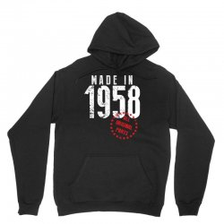 Made In 1958 All Original Parts Unisex Hoodie | Artistshot