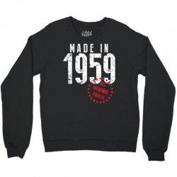 Made In 1959 All Original Parts Crewneck Sweatshirt | Artistshot