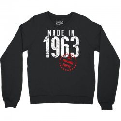 Made In 1963 All Original Parts Crewneck Sweatshirt | Artistshot