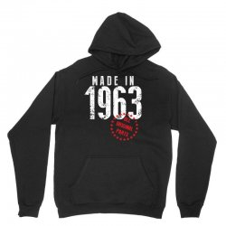 Made In 1963 All Original Parts Unisex Hoodie | Artistshot