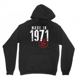 Made In 1971 All Original Parts Unisex Hoodie | Artistshot