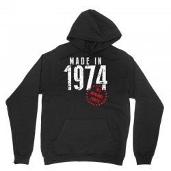 Made In 1974 All Original Parts Unisex Hoodie | Artistshot