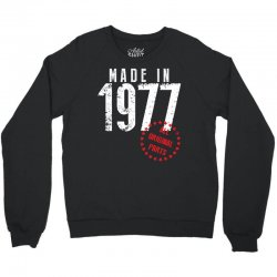 Made In 1977 All Original Parts Crewneck Sweatshirt | Artistshot