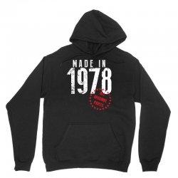 Made In 1978 All Original Parts Unisex Hoodie | Artistshot