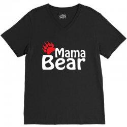 Mama Bear V-Neck Tee   Artistshot