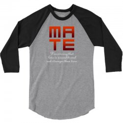 Mate 3/4 Sleeve Shirt | Artistshot