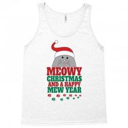 Meowy Christmas Tank Top | Artistshot