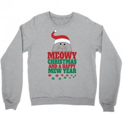 Meowy Christmas Crewneck Sweatshirt | Artistshot