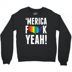 'MERICA FUCK YEAH! Crewneck Sweatshirt | Artistshot