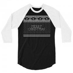 Merry Christmas 3/4 Sleeve Shirt   Artistshot