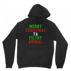 Merry Christmas Ya Filthy Animal Unisex Hoodie | Artistshot