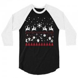 Merry Xmas 3/4 Sleeve Shirt | Artistshot