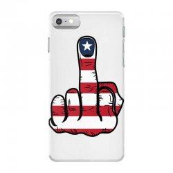 Middle Finger USA Flag iPhone 7 Case | Artistshot