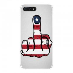 Middle Finger USA Flag iPhone 7 Plus Case | Artistshot