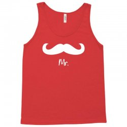 Mr with heart dot (Mr and Mrs set) Tank Top | Artistshot