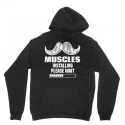 Muscles Installing Please Wait Unisex Hoodie | Artistshot