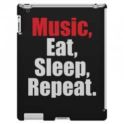 Music Eat Sleep Repeat iPad 3 and 4 Case | Artistshot