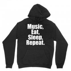 Music Eat Sleep Repeat Unisex Hoodie | Artistshot