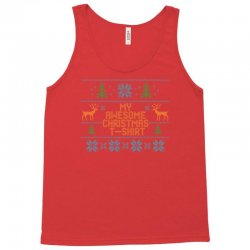 My Awesome Christmas T-Shirt Tank Top | Artistshot