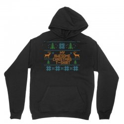 My Awesome Christmas T-Shirt Unisex Hoodie | Artistshot