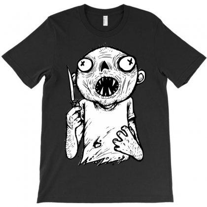 Zombie Knife T-shirt Designed By Sbm052017