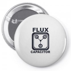 flux capacitor Pin-back button | Artistshot