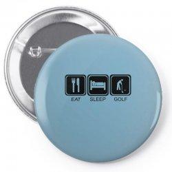 eat,sleep,golf Pin-back button | Artistshot